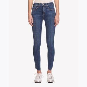 New RAG & BONE High Rise Ankle Skinny Jeans 24 NWT